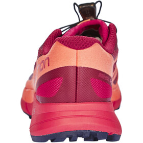 Salomon Sense Ride Zapatillas running Mujer, sangria/living coral/virtual pink